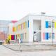 Фасад детского сада в «Английской миле» заиграл яркими красками