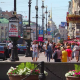 Проезжую часть Невского проспекта могут отгородить от тротуара